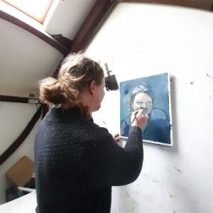 No61 -The New Gallery Blog -Danny's Self portrait